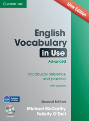 English Vocabulary in Use Advanced with CD-ROM