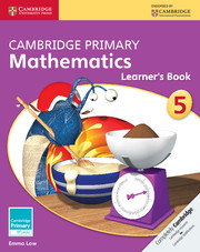 Cambridge Primary Mathematics Stage 5 Learner's Book