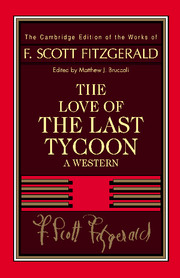 Fitzgerald: The Love of the Last Tycoon