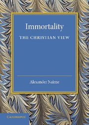 Immortality: The Christian View