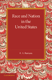 Race and Nation in the United States