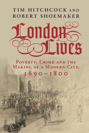 London Lives (book cover)