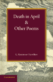 Death in April and Other Poems