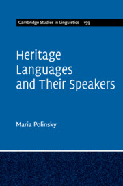 Heritage Languages and their Speakers