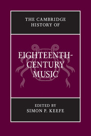 The Cambridge History of Eighteenth-Century Music