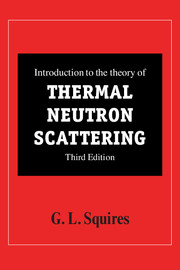 Introduction to the Theory of Thermal Neutron Scattering