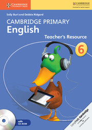 Cambridge Primary English Stage 6 Teacher's Resource Book with CD-ROM
