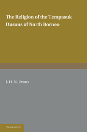 The Religion of the Tempasuk Dusuns of North Borneo