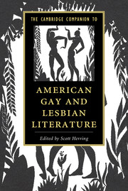 The Cambridge Companion to American Gay and Lesbian Literature