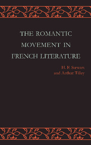 The Romantic Movement in French Literature