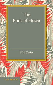 The Book of Hosea