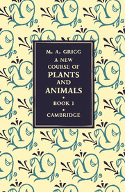 A New Course of Plants and Animals