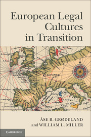 European Legal Cultures in Transition