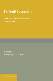 Fourteen Satires of Juvenal