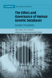 The Ethics and Governance of Human Genetic Databases