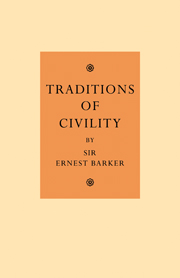 Traditions of Civility