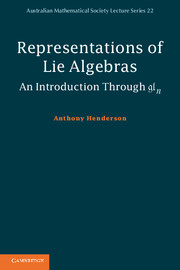 Representations of Lie Algebras