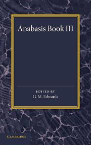 Xenophon Anabasis Book III