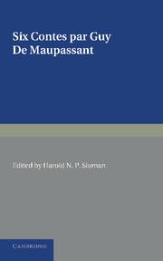 Six contes par Guy de Maupassant