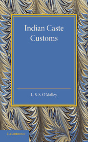 Indian Caste Customs
