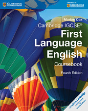 Cambridge IGCSE First Language English