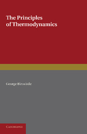The Principles of Thermodynamics