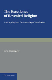 The Excellence of Revealed Religion