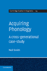 Acquiring Phonology