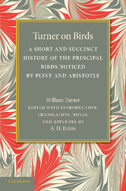 Turner on Birds