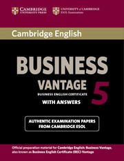 Cambridge English Business 5