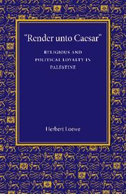 'Render unto Caesar'