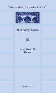 The Study of Drama