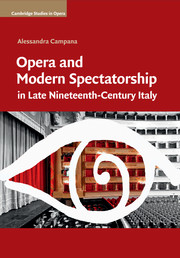 Opera and Modern Spectatorship in Late Nineteenth-Century Italy