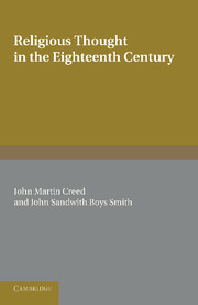 Religious Thought in the Eighteenth Century