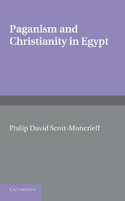 Paganism and Christianity in Egypt