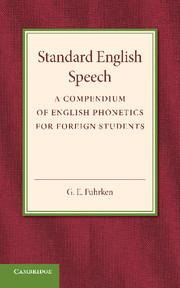 Standard English Speech