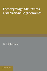 Factory Wage Structures and National Agreements