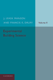 Experimental Building Science