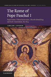 The Rome of Pope Paschal I