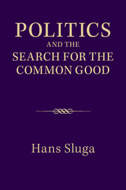 Politics and the Search for the Common Good