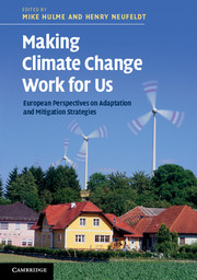 Making Climate Change Work for Us
