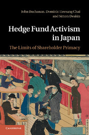Hedge Fund Activism in Japan