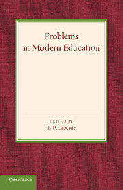Problems in Modern Education