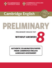 Cambridge Preliminary English Test 8