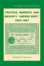 Politics, Markets, and Mexico's 'London Debt', 1823–1887