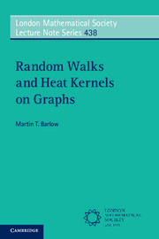Random Walks and Heat Kernels on Graphs