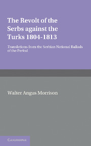 The Revolt of the Serbs against the Turks