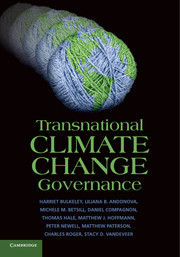 Transnational Climate Change Governance