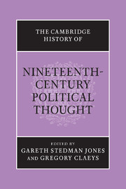 The Cambridge History of Nineteenth-Century Political Thought
