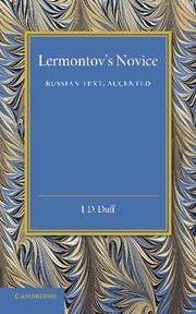 Lermontov's Novice